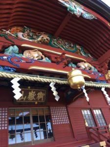 武蔵御嶽神社の本殿