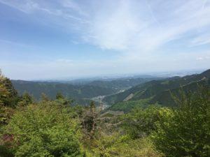 御嶽山の景色