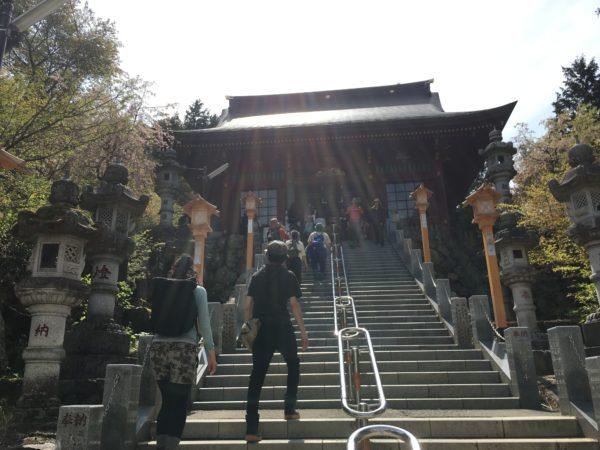 御嶽神社の階段
