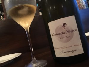 シャンパンのクリストファーミニヨン