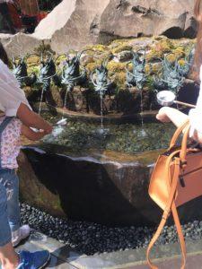 九頭龍神社の手水
