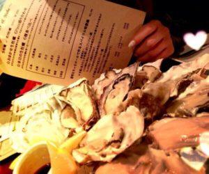 スパイラルの生牡蠣
