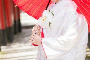 神前結婚の花嫁