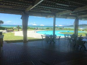イーフービーチホテルからの景色