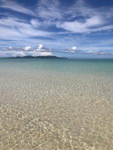 はての浜からのビーチ
