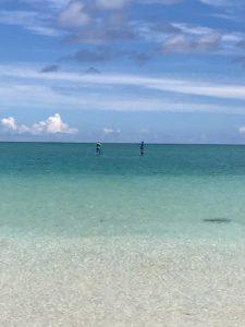 はての浜から見た海
