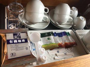 ホテルのコーヒー