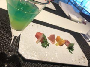 前菜と食前酒