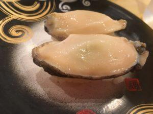 アワビのお寿司