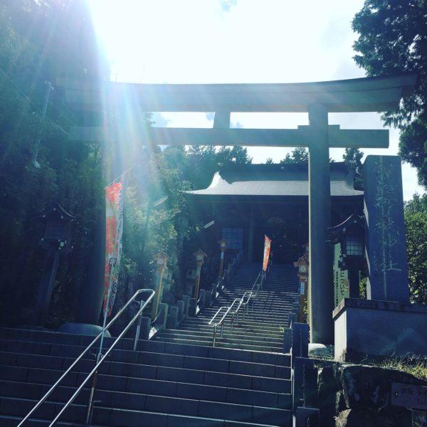 武蔵御嶽神社の鳥居