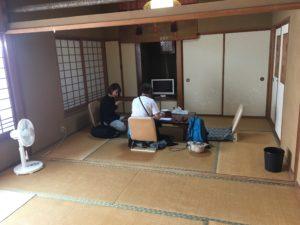 宿の畳部屋