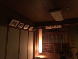 宿坊の和室